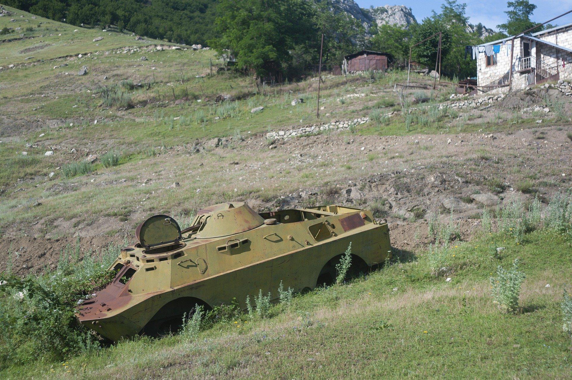 Der Krieg um Bergkarabach wird mit größter Härte geführt.