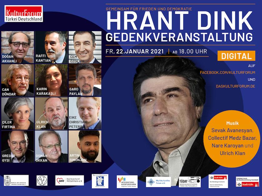 Hrant Dink Gedenken